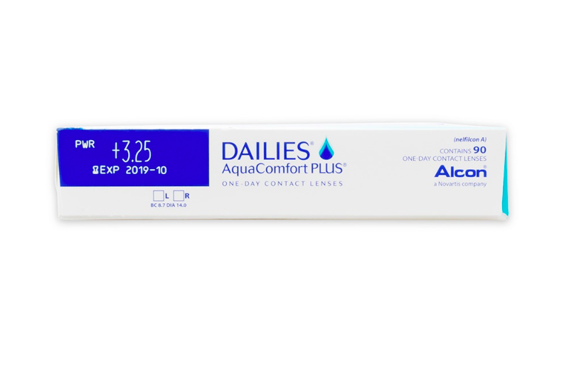 Dailies AquaComfort Plus (90 Pack) - Lensbox™