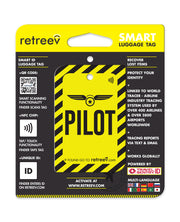 retreev SMART Bag / Luggage Tag - Pilot