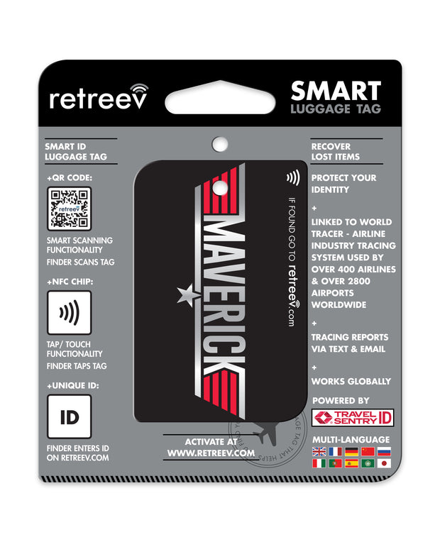 retreev SMART Bag / Luggage Tag - Maverick