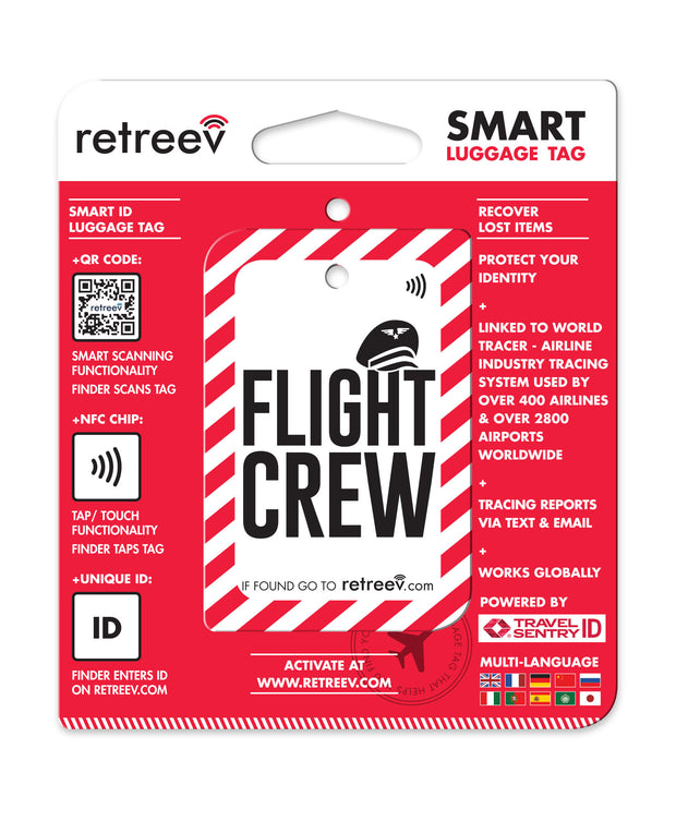 retreev SMART Bag / Luggage Tag - Flight Crew