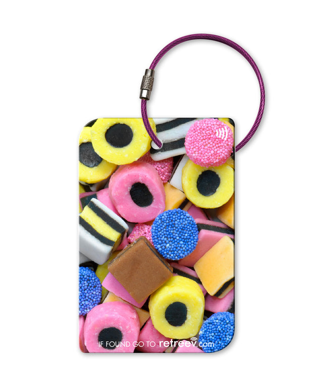 retreev SMART Bag / Luggage Tag - Liquorice