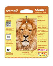 retreev SMART Bag / Luggage Tag - Lion