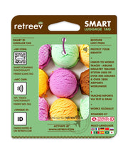 retreev SMART Bag / Luggage Tag - Icecream