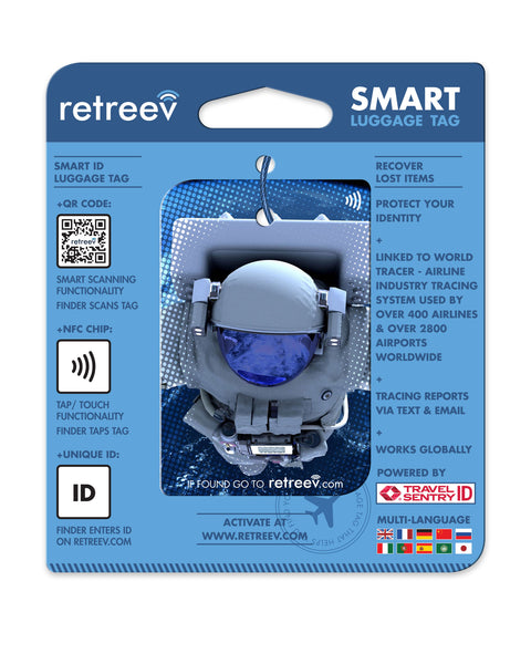 retreev SMART Bag / Luggage Tag - Astronaut