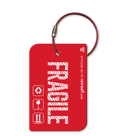 retreev SMART Bag / Luggage Tag - Fragile