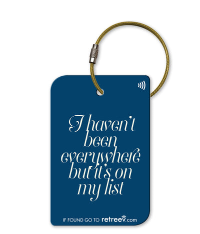 retreev SMART Bag / Luggage Tag - Everywhere