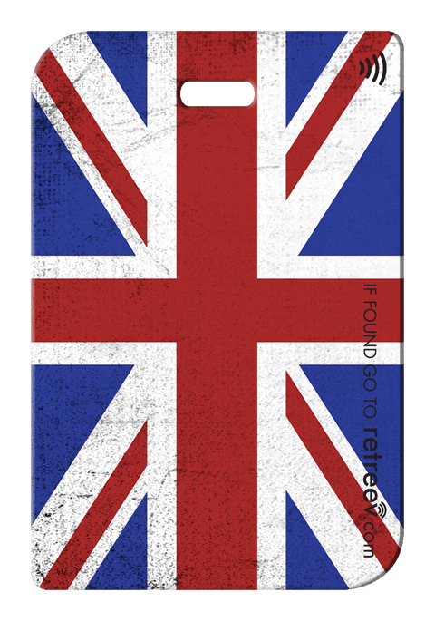 retreev SMART Bag / Luggage Tag - United Kingdom
