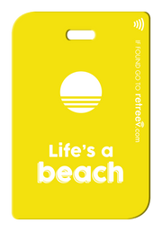 retreev SMART Bag / Luggage Tag - Life's a Beach