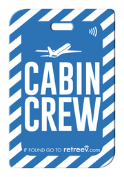retreev SMART Bag / Luggage Tag - Cabin Crew