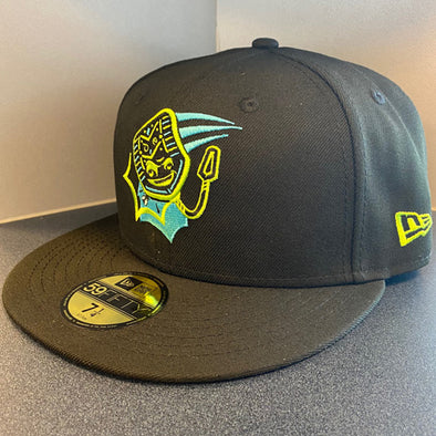 Midland RockHounds Matamoscas de Midland COPA Black 5950 Fitted Hat