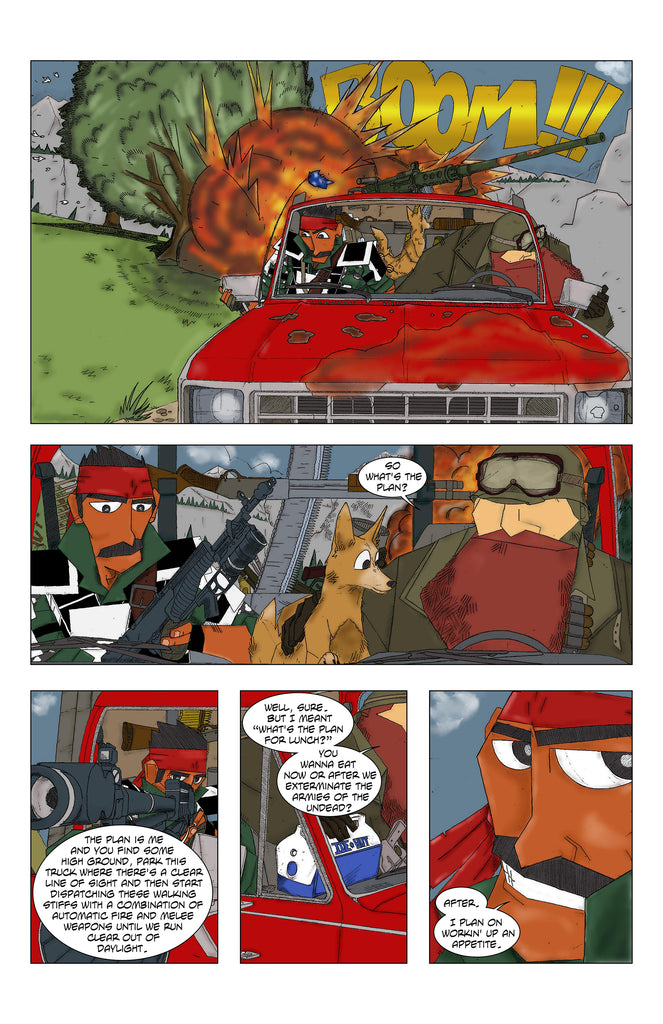 Burt and Woodrow's Last Adventure #1 Page 7