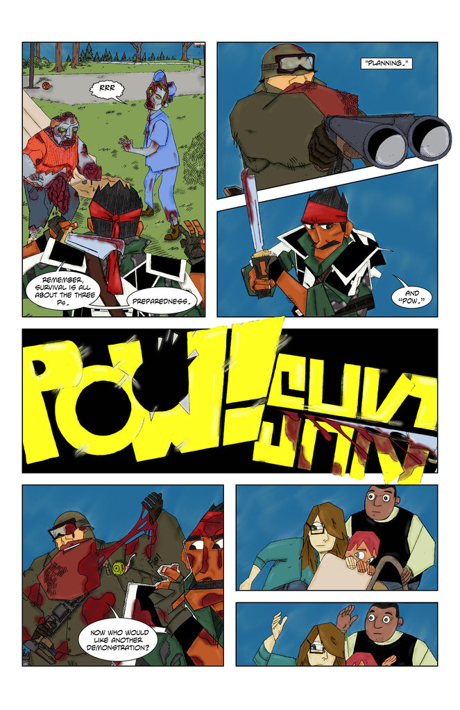 Burt and Woodrow's Last Adventure #1 Page 10