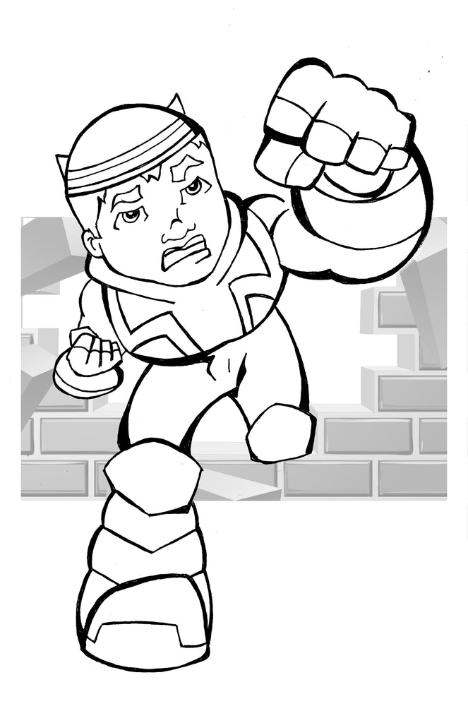The Impossible 5 Coloring Page 6