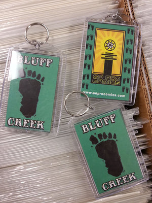 Bluff Creek Keychain
