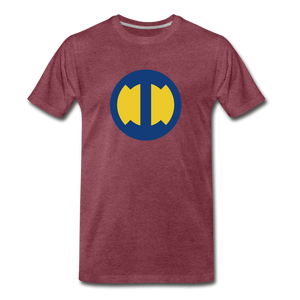 Omega Impossible's Insignia - heather burgundy