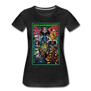 Dreadknightz Women's Premium T-Shirt - charcoal gray