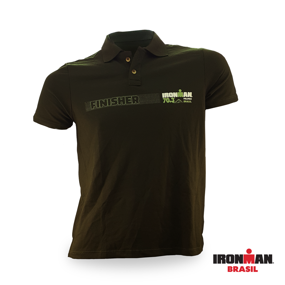 Camisa Pólo Finisher IRONMAN 70.3 PALMAS 2017