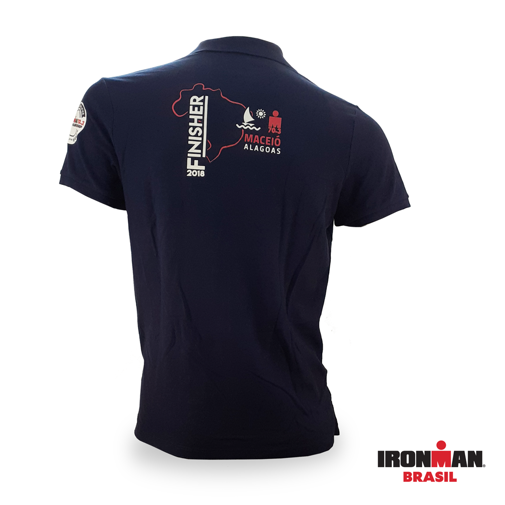 Camisa Pólo Finisher IRONMAN 70.3 MACEIÓ 2018