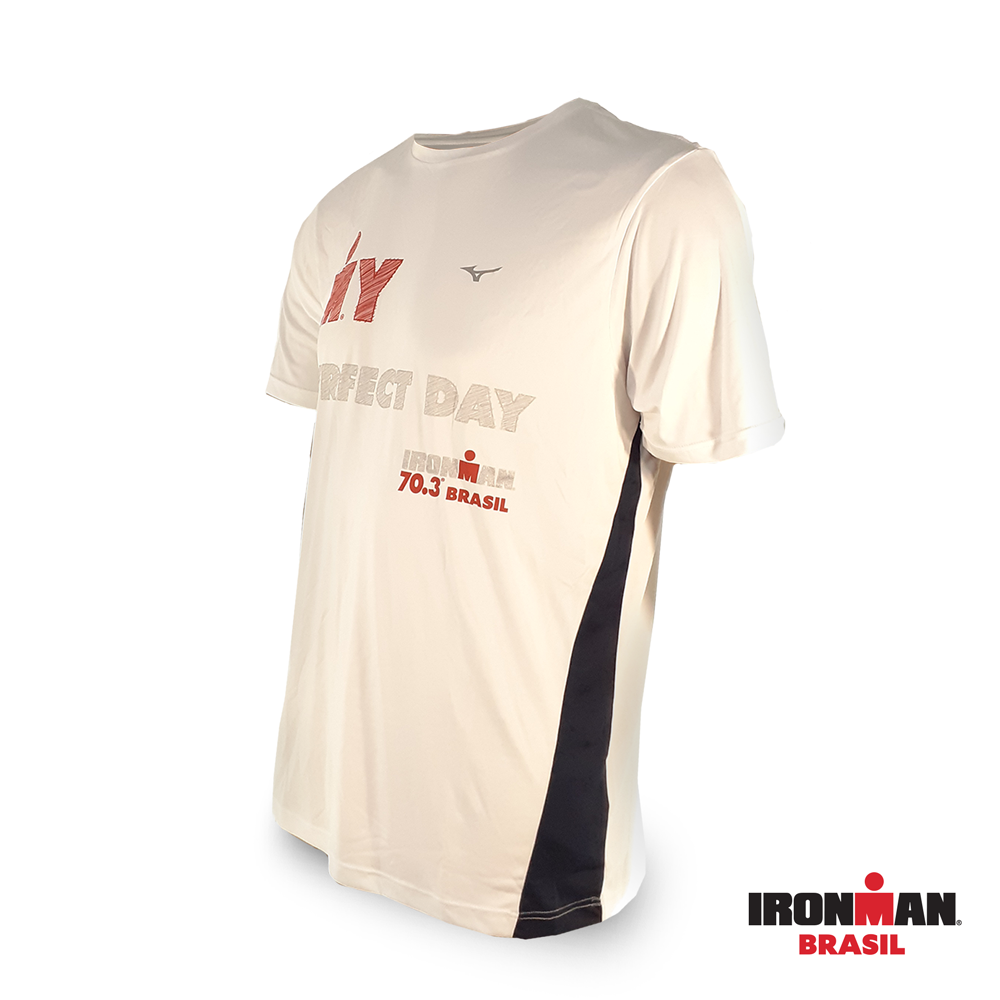 Camiseta Mizuno IRONMAN BRASIL 70.3 MY PERFECT DAY