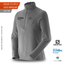 Fleece Polar 1/2 Zip Salomon Cinza Onix Masculino