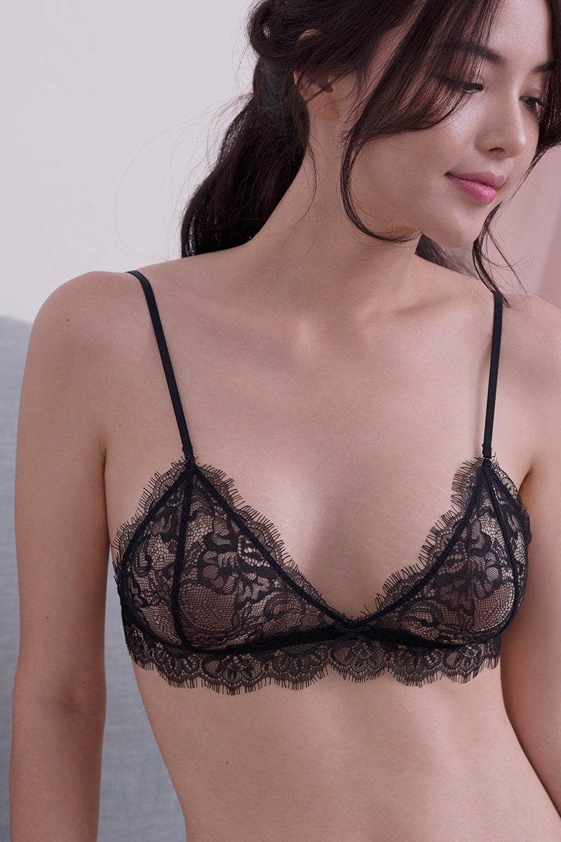 Alexis Sheer Bralette by perk by kate