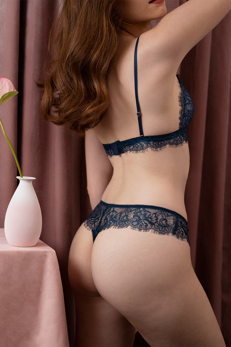 Alexis Lace Thong by perk by kate