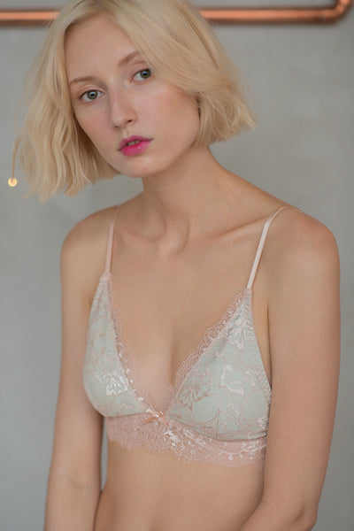 Alexis Plunge Padded Bralette by perk by kate (L Left)