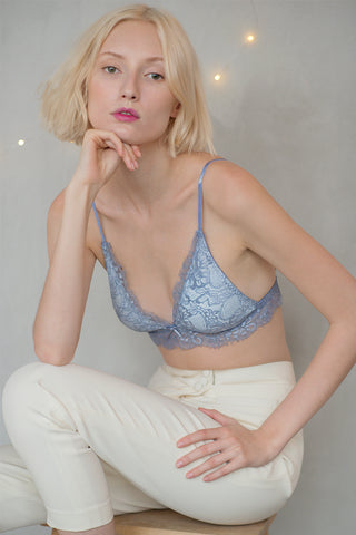 Alexis Plunge Padded Bralette by perk by kate