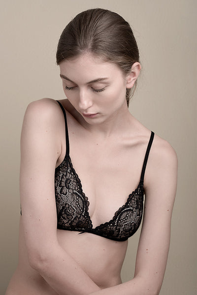 097675918 All Lace Padded Bralette by Samantha Chang
