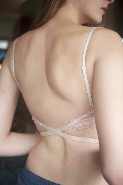 Alyssa Low-Back Padded Bralette by Esse x Perk by Kate