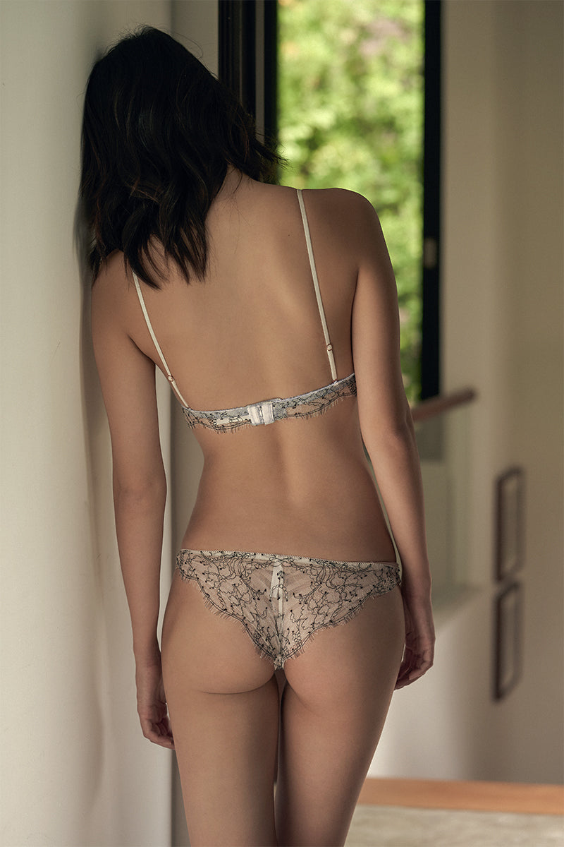 Astrid Silk Panel Lace Cheeky by perk by kate