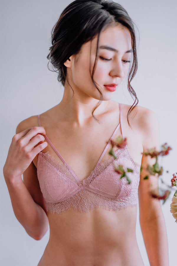 Aurora Strappy Push Up Padded Bralette by perk by kate