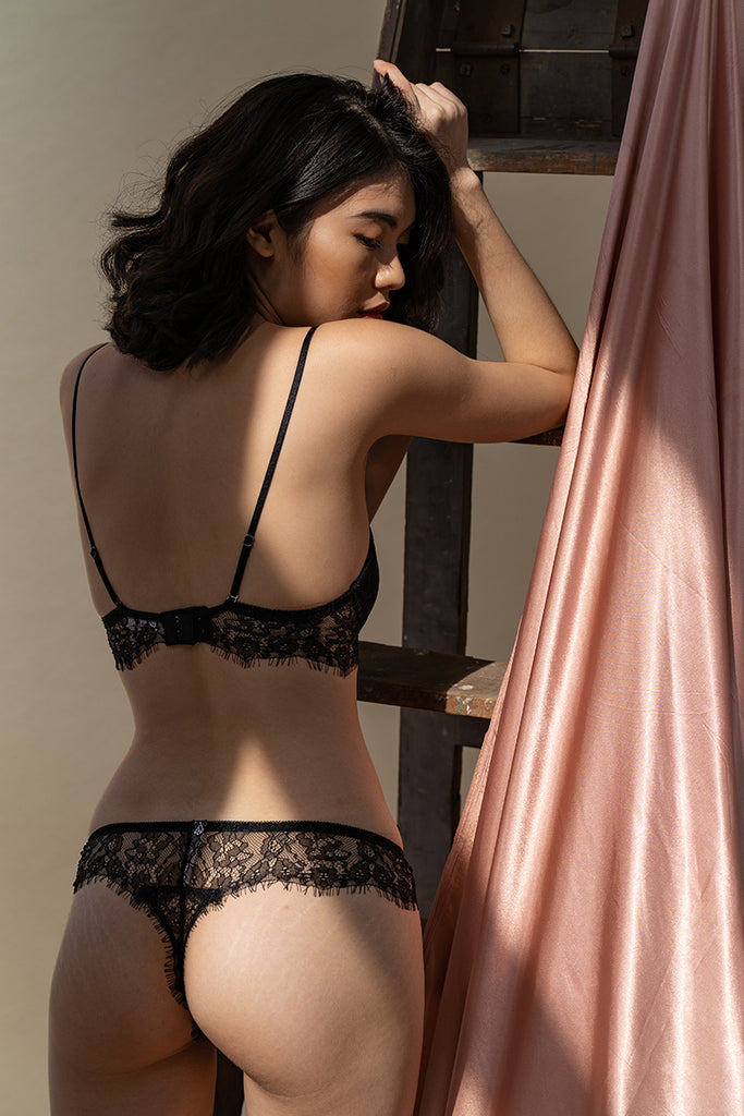 Aurora Lace Thong by perk by kate