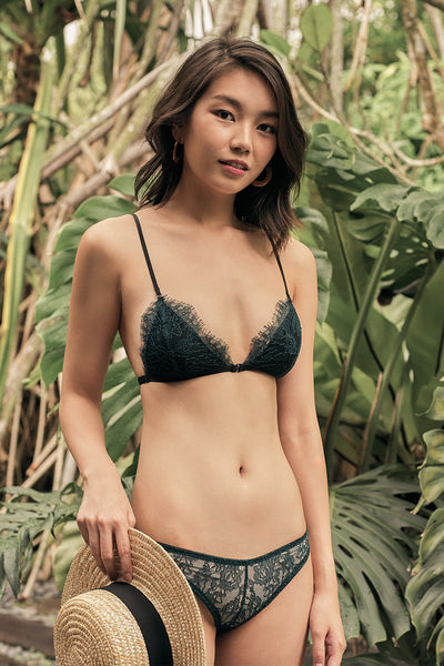 Aurora Triangle Padded Bralette by perk by kate
