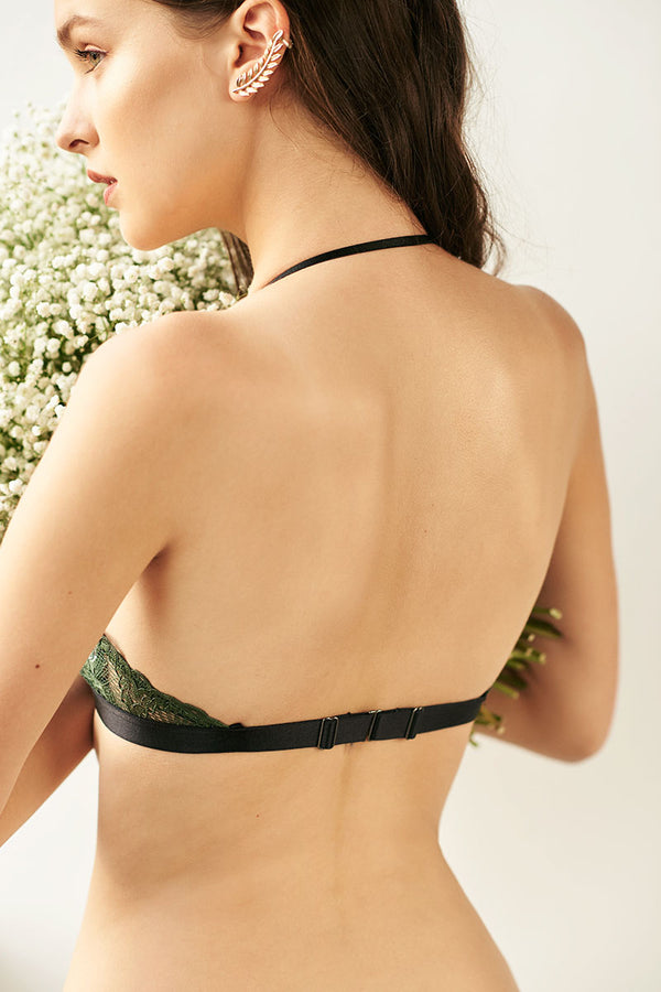 Celiné Three-way Convertible Triangle Padded Bralette by perk by kate