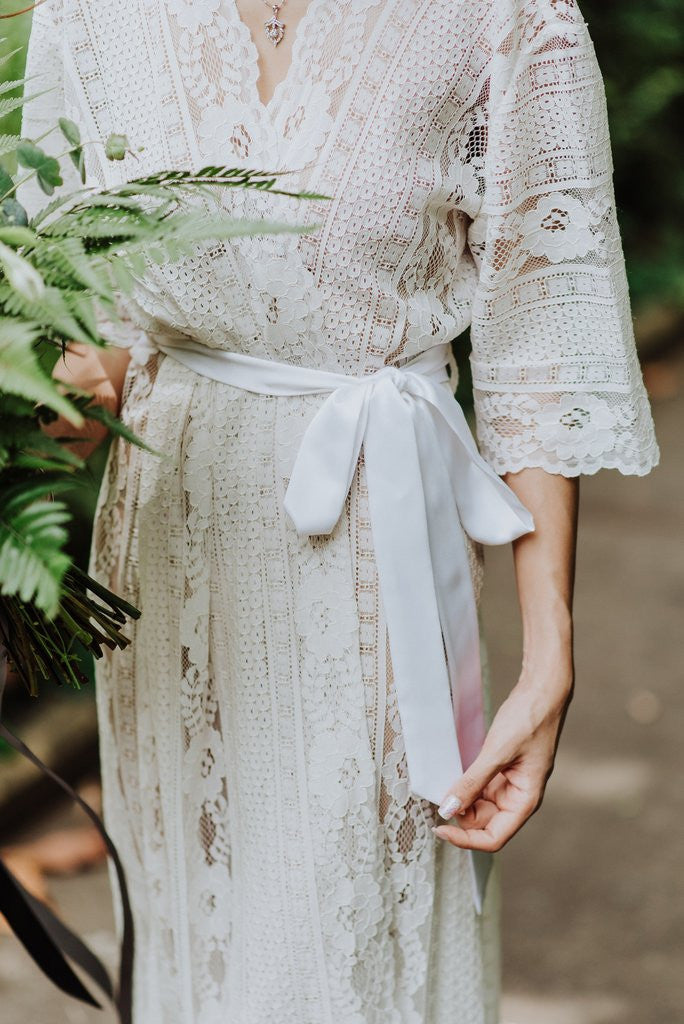 Forever and Ever Lace Robe by Bells and Birds