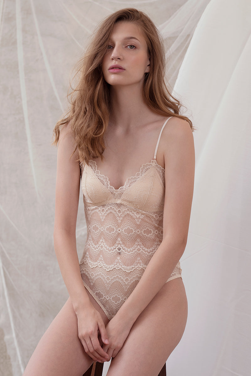 Celiné Three-way Convertible Padded Bodysuit by perk by kate