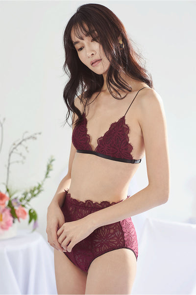Charlie Side-Clasp Padded Bralette by perk by kate