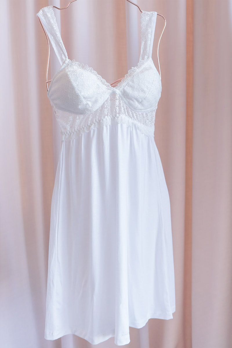 Eden Lace Strap Padded Chemise by perk by kate