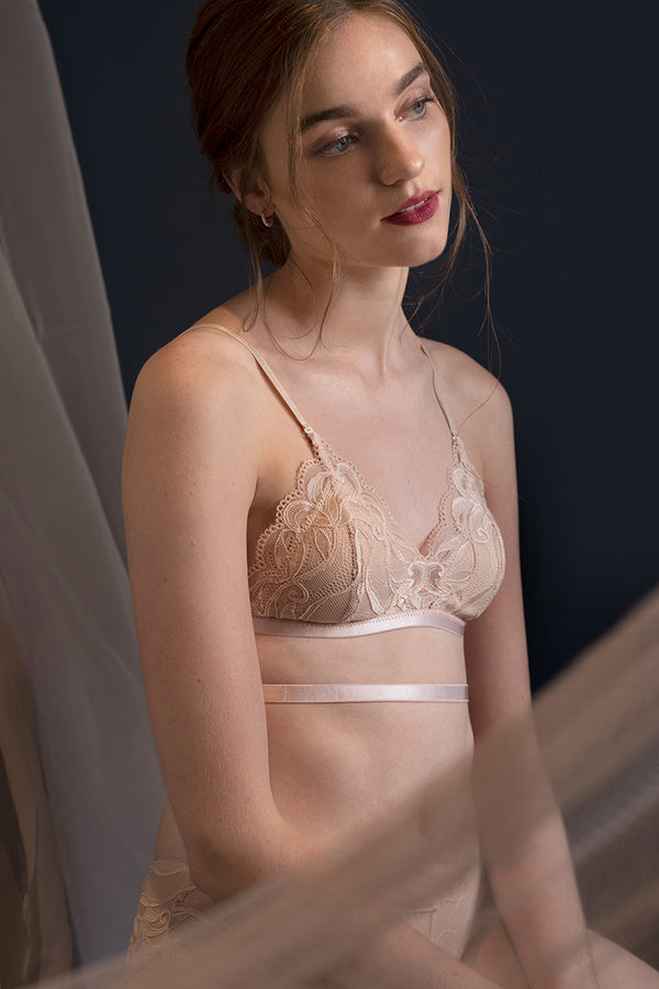 Dawn Cage-Back Padded Bralette by perk by kate