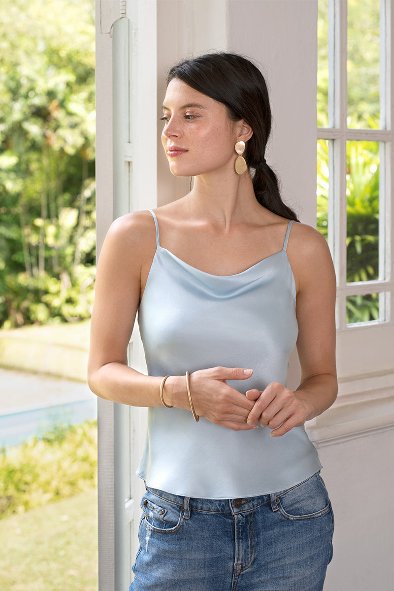 Inga Draping Front Top by NiloNilo