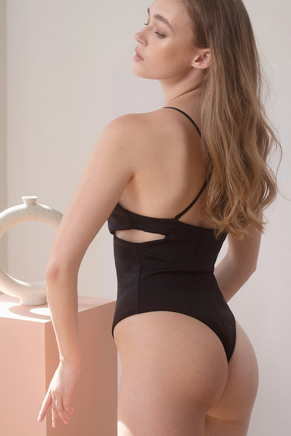Dylan Padded Bodysuit by perk by kate