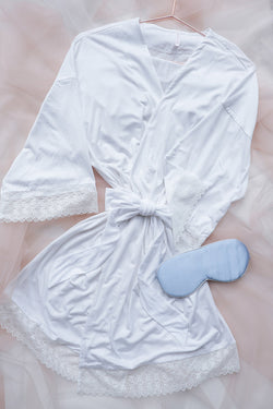 Eden Cozy Short Robe by perk by kate