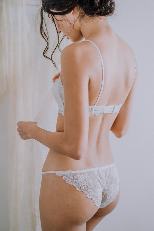 Elie Strappy Lace Cheeky perk by kate