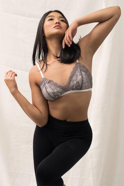Hannah Full-Cup Padded Bralette by perk by kate