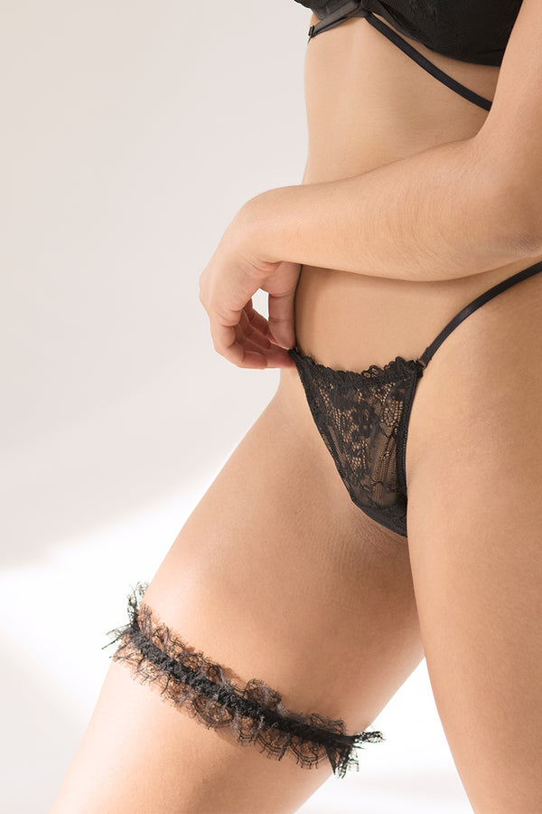 Chantilly Lace Garter by perk by kate