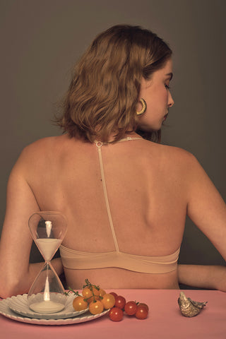Maddy T-Back Padded Bralette by perk by kate
