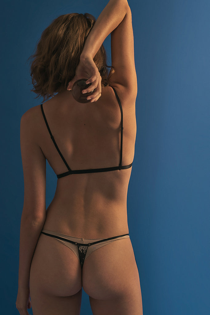 Madeline Strappy G-String by Perk by Kate