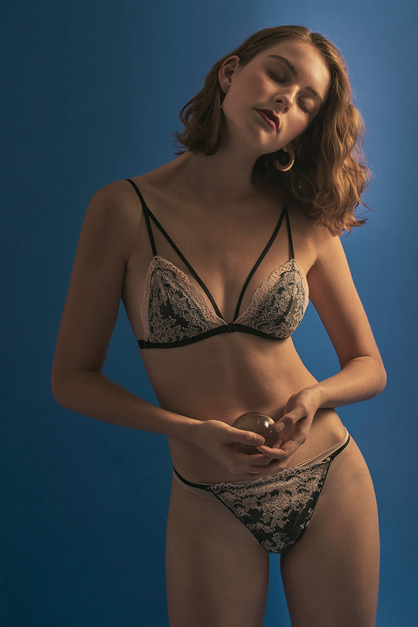 Madeline Strappy Padded Bralette by Perk by Kate