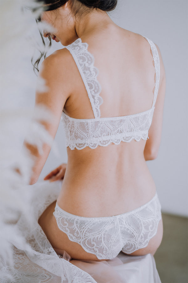 Mi Amor Lace Strap Padded Bralette by perk by kate